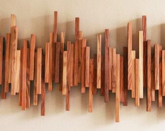 Olive Wood Coat Rack