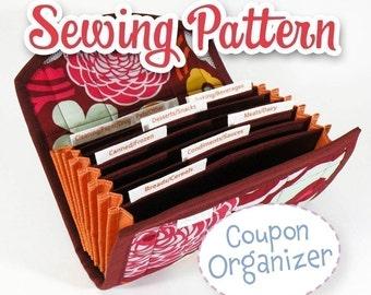 PDF SEWING PATTERN - Coupon \/ Expense Organizer