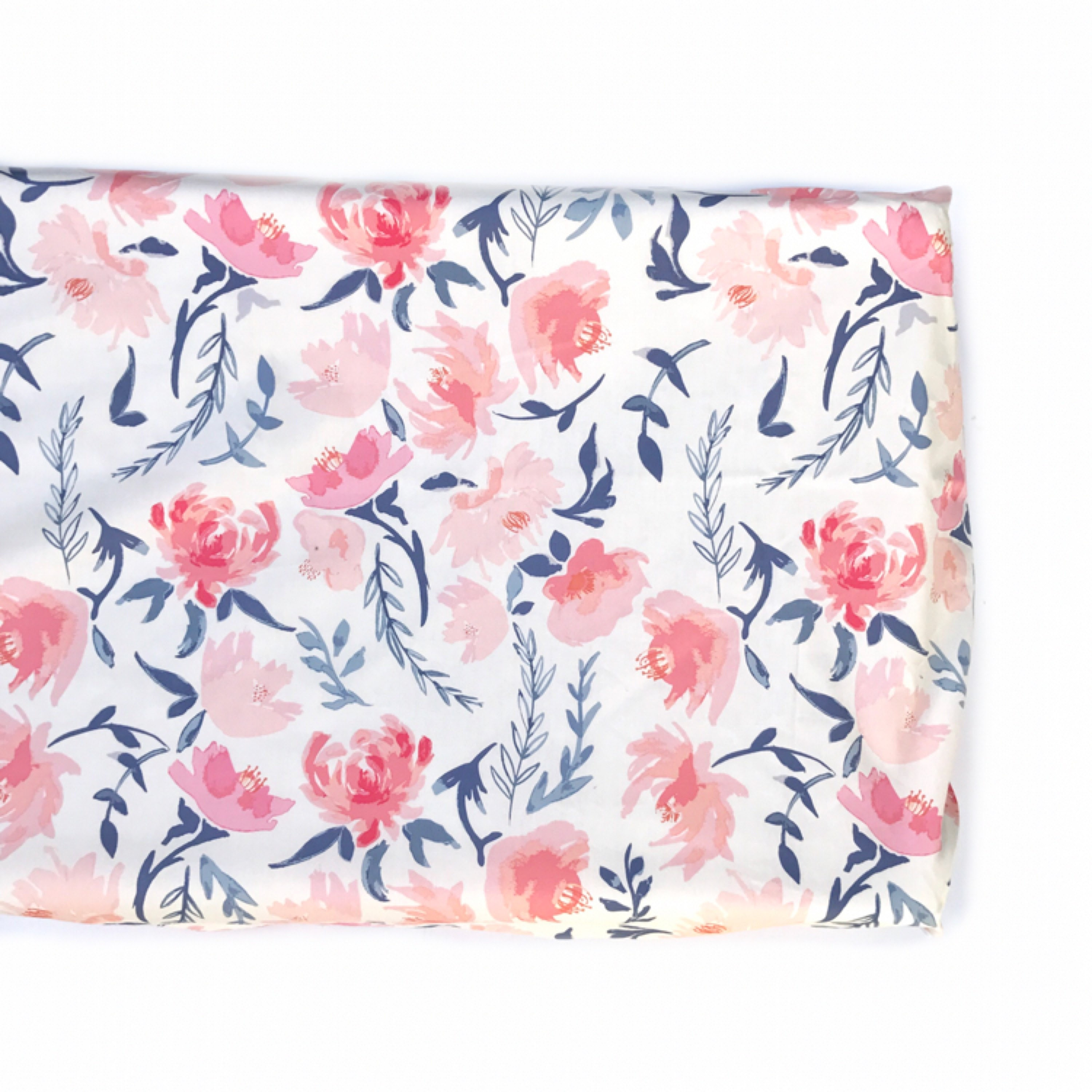 Crib Sheet Or Changing Pad Cover Romantic Floral Floral Crib