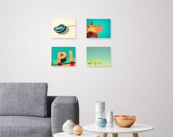 Pick any 4 prints, 8x10 or 5x7, print set sale, set of art prints, choose four art prints, fine art photography, retro decor, mid century