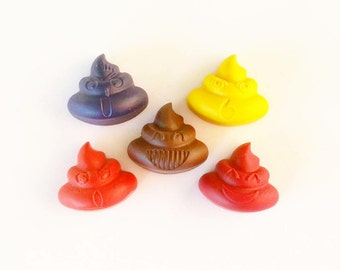 Poop Emoji, Emoji Crayon, Emoji Gifts, Emojis, Crayons, Potty, Training, Novelty Gift, Emoji Party, Party Favors, Poo Emoji, Emoticon, Kids