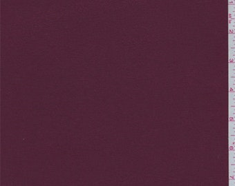 Maroon Bamboo Jersey Knit, Fabric By The Yard