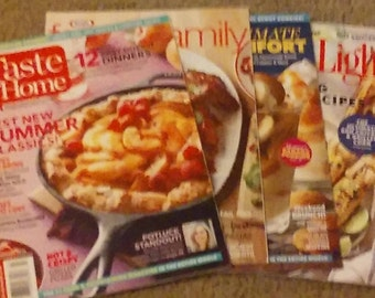 Four New Cooking Magazines Ready To Use!