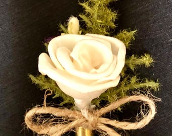 NEW for 2018! Rifle Shell boutonnière
