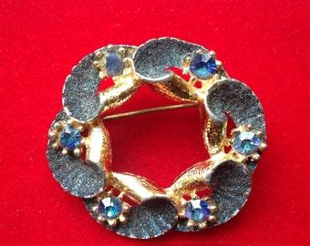 Stylish Blue brooch