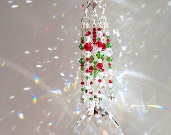 Cascade of Stars Chandelier Sun Catcher with Swarovski Crystals