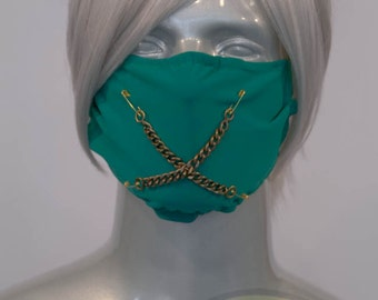 Green J-Rock Surgical Mask