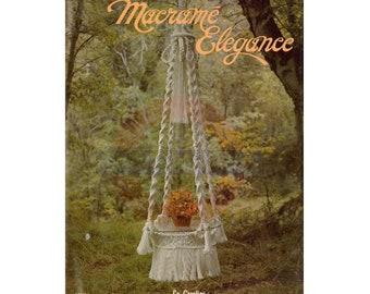 Macramé Elegance - 20 Vintage Macrame Patterns Instant Download PDF 24 pages
