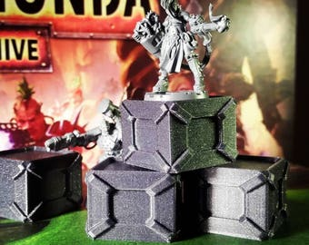 Sci Fi Crate - 3D Printed 28mm Scatter Scenery - Wargames Tabletop Terrain