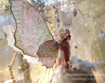 Snow Queen 3, Greeting Card by Renae Taylor