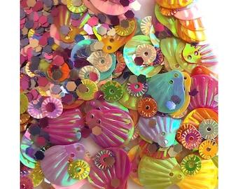 Mermaid confetti mix