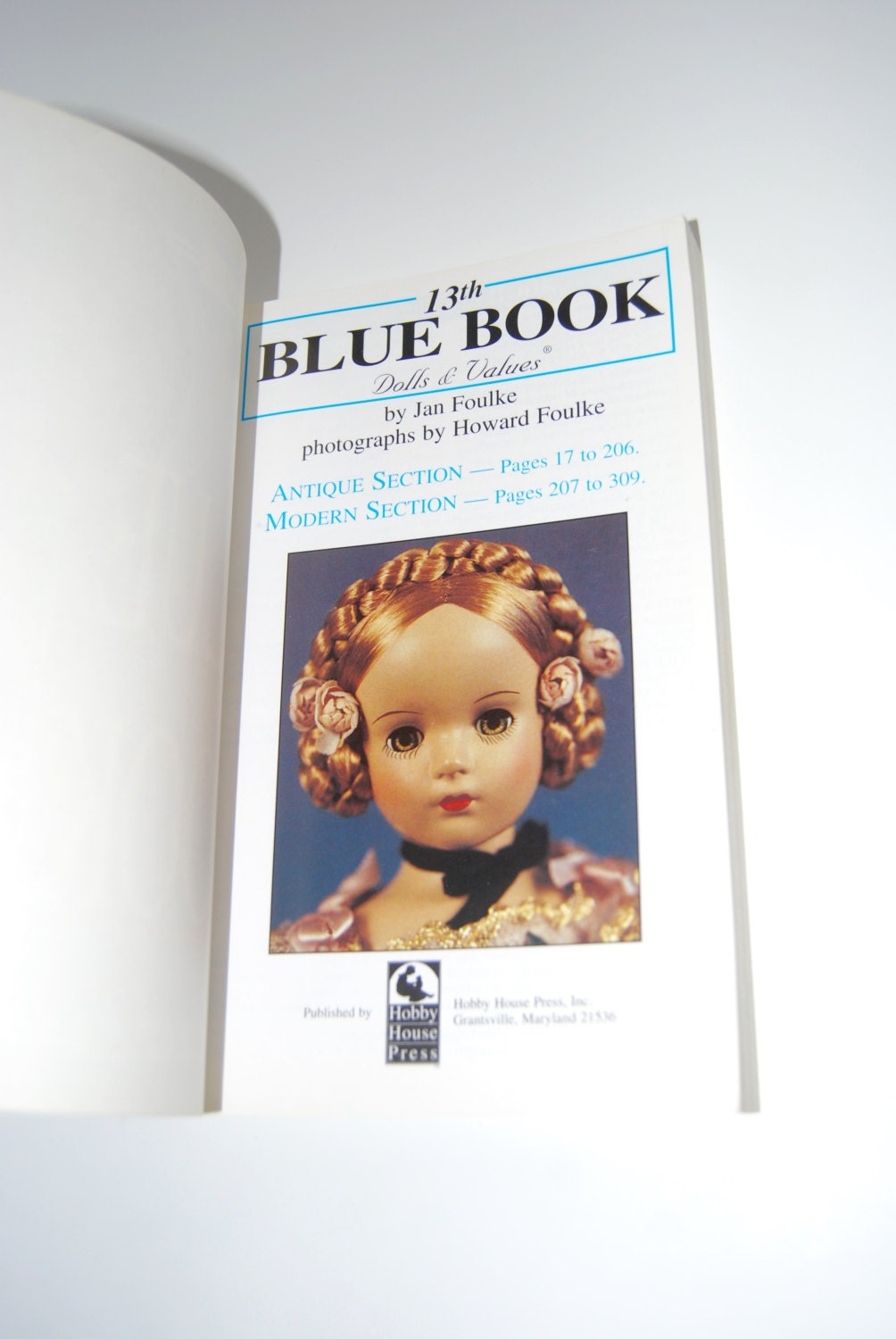 Vintage Collecting Book, 13th Blue Book Dolls and Values from ...