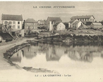 Creuse - La Courtine, France, circa 1918 Unused Postcard