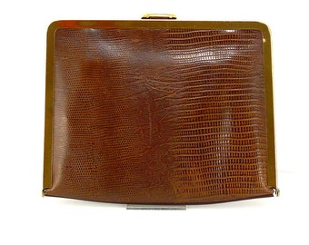 1960 lizard leather POUCH