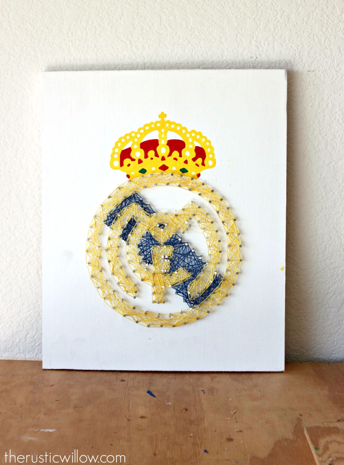 Real Madrid String Art Real Madrid Party Soccer Decor