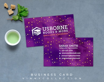 Usborne Business Cards, Fast Free Personalization and Change, Digital Business Cards, Usborne Business Card, Marketing Business card 01