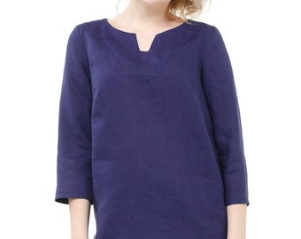 Tunic with 3\4 sleeve