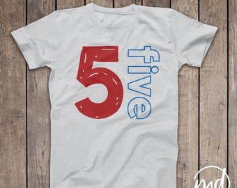 Boy Birthday Shirt 5 Year Old, 5 birthday shirt boy, Birthday Shirt 5 Boy, 5th birthday outfit boy,  5th birthday boy shirts