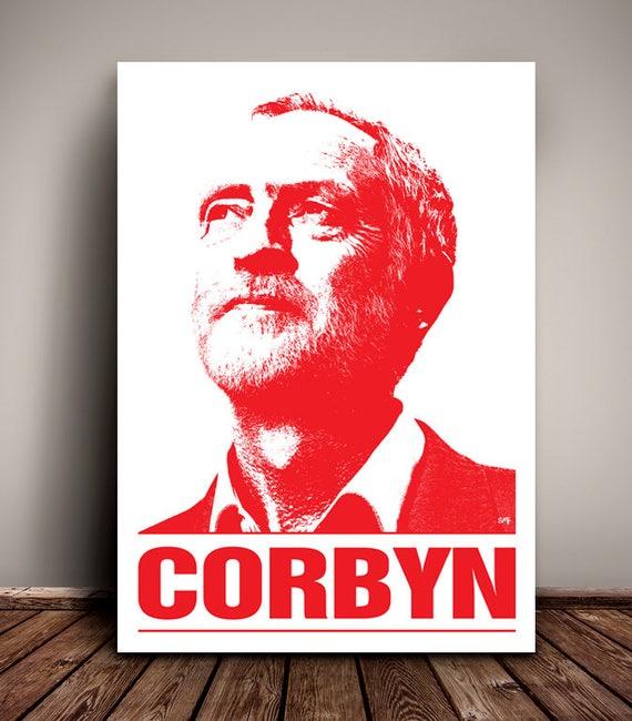 Jeremy Corbyn // Jez // Labour Party // Political Print // Unique Art print