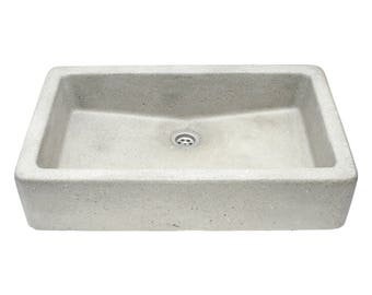 Gray Concrete Sink UB11