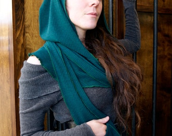 Hood scarf cape Steam punk for LARP costume and cosplay