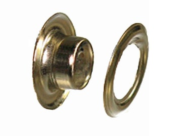 Grommets #00  Nickel / 10 Pack