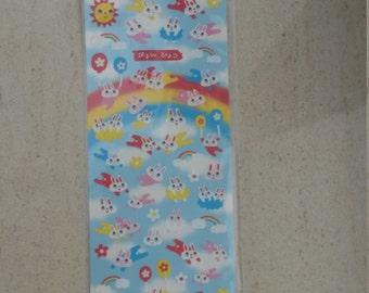 Mind Wave Kawaii stickersheet animals stickersheet bunnies stickersheet Japanese stickers