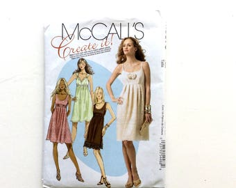McCall's M5879, Women's Dress Pattern, Size 4-12, Uncut