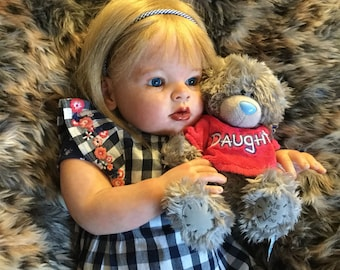 Arianna Kit by Reva Schick,reborn Toddler,Realistic doll