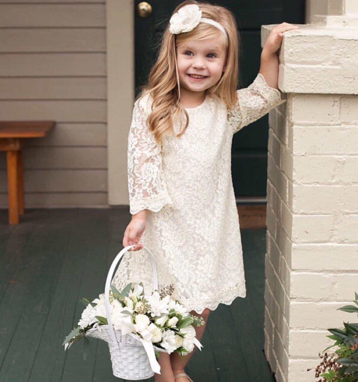 Dresses ivory lace