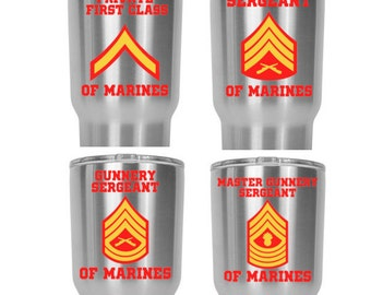 USMC 0911 Drill Instructor MOS Decal