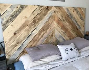 Headboard, Rustic Headboard, King Size Headboard, Wood Headboard, Real Wood Headboard, Custom Wood Headboard
