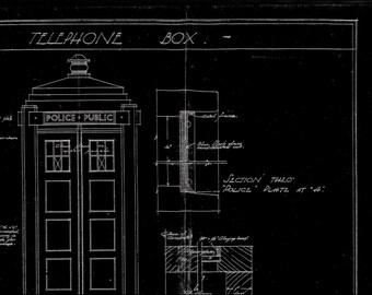 Police Box Blueprint.
