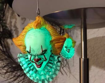 Pennywise the Dancing Clown Glow in the Dark Christmas Ornament