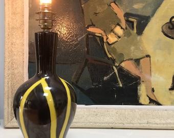 Mid century (spirit Vallauris) ceramic lamp base