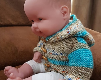 Dolls Knitted Hooded Jacket
