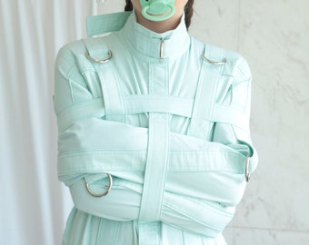 Baby Mint ABDL Straitjacket - Straitjacket for a Little / Adult Baby Diaper Lover