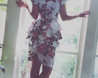 The Rosebud Dress