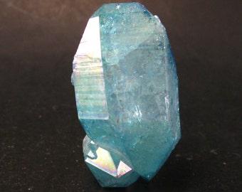"""Aqua Aura Quartz Crystal Cluster from Brazil - 1.8"""""""