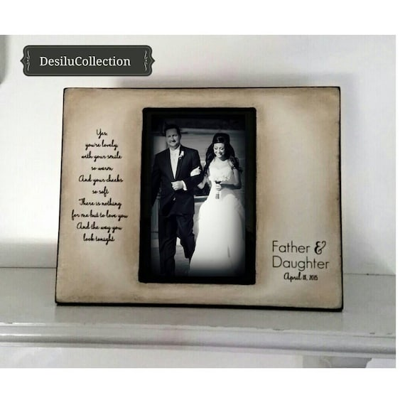Father Daughter Dance, Personalized Pircture Frames, Daddy Daughter ...