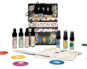 Perfume Creation Kit, Create Your Own Perfume, Make Your Own Signature Scent, Become a Perfumer, Gift Ideas for her, Make Your Own Fragrance