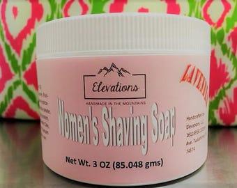 Women's Shaving Soap