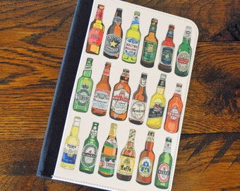Leather Planner Notebook, Beers