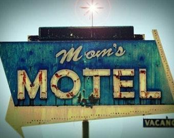 Moms Motel - 11 x 14 Hampel Fotoabzug
