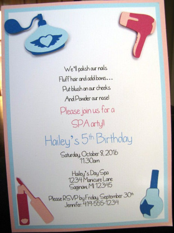 Geburtstag wellness party