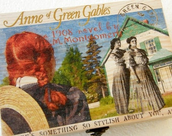 Anne of Green Gables,Anne of Green Gables box, Anne of Green Gables story box, Personalized box, book box, theme box,