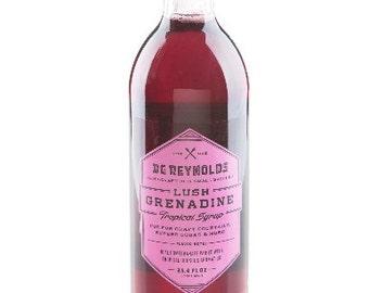 BG Reynolds Lush Grenadine syrup 375ml