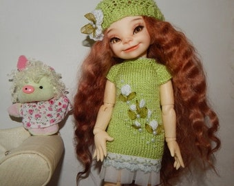 """Littlefee  YOSD 25-26 сm BJD Outfit """"Gentle greenery"""" and  for dolls of similar format"""