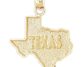 State of Texas Map Charm (JC-863)