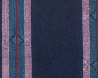 Chemistry - Royal - From the Loominous Collection by Anna Maria Horner - Free Spirit Fabric - Woven Apparel Fabric by the Yard